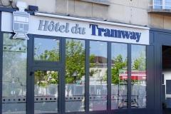 Façade de l'Hôtel du Tramway